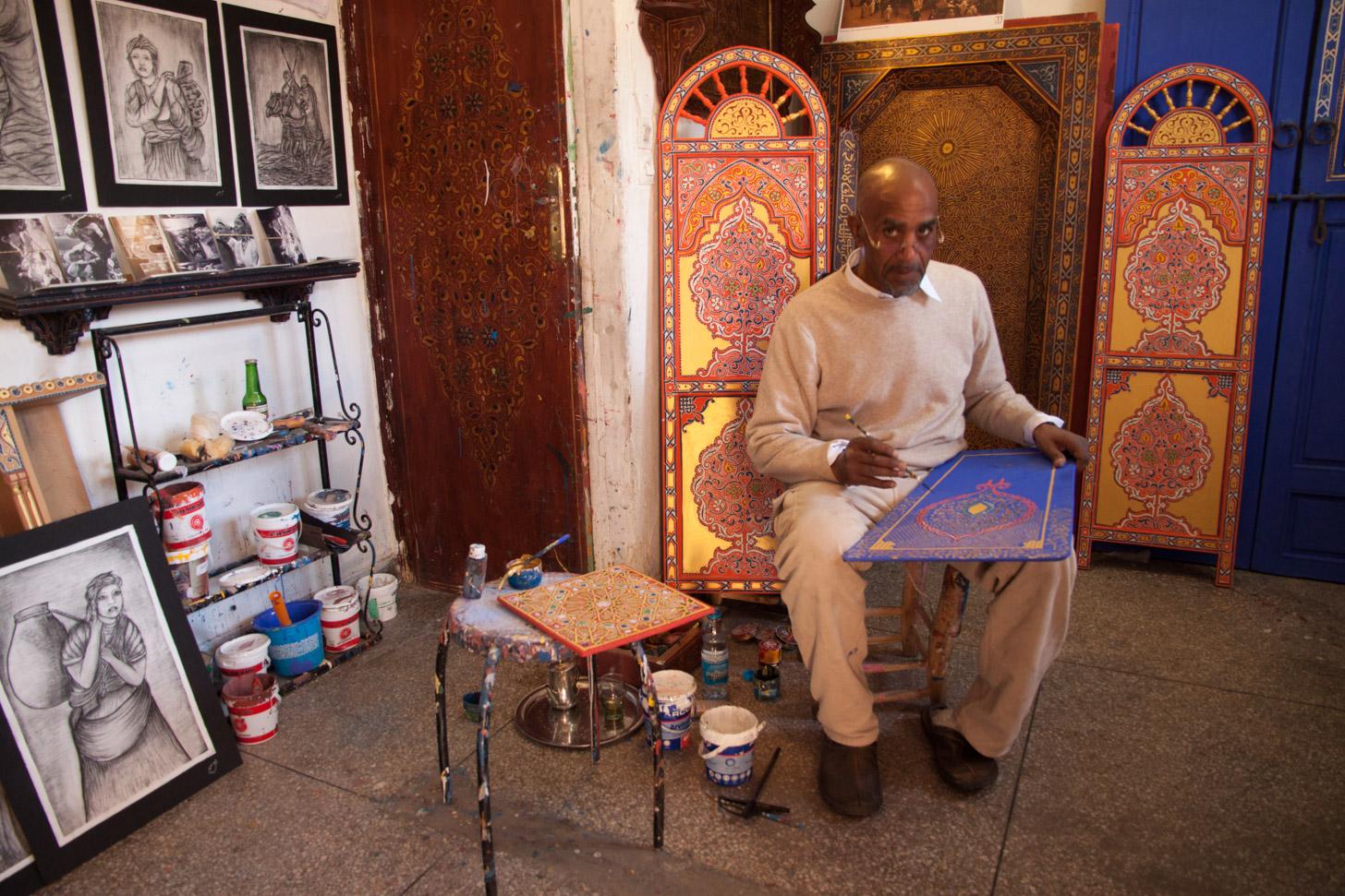 Kunst kopen in Marrakech
